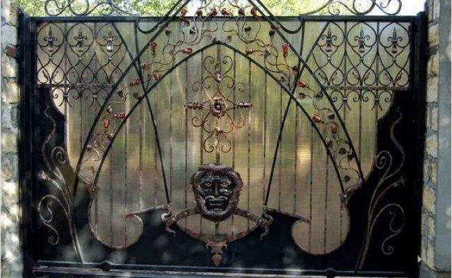 Ворота кованые kv-35