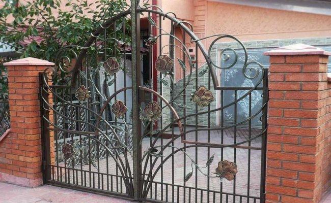 Ворота кованые kv-39