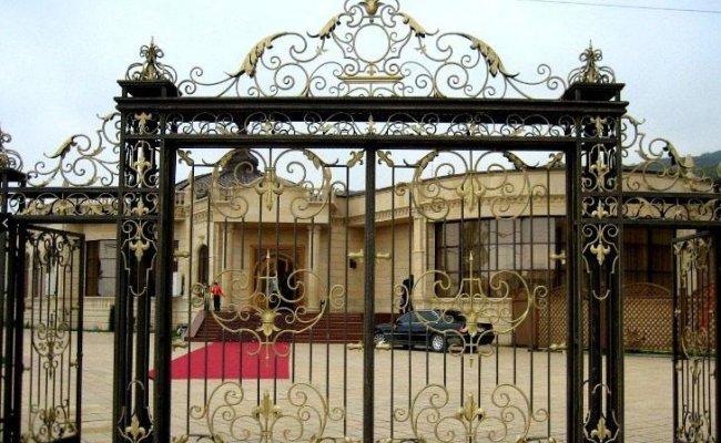 Ворота кованые kv-40