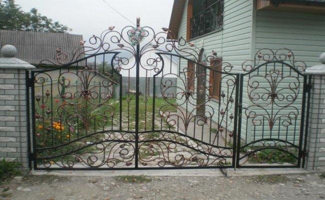 Ворота кованые kv-43