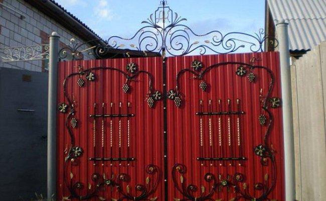 Ворота кованые kv-45