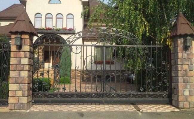 Ворота кованые kv-51