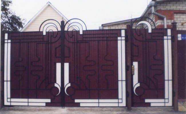 Ворота кованые kv-58