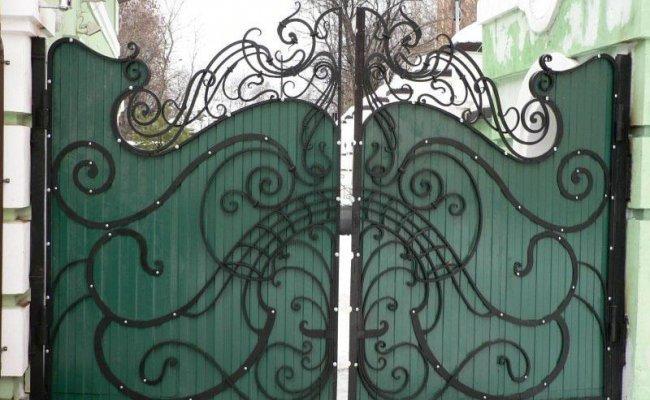 Ворота кованые kv-61