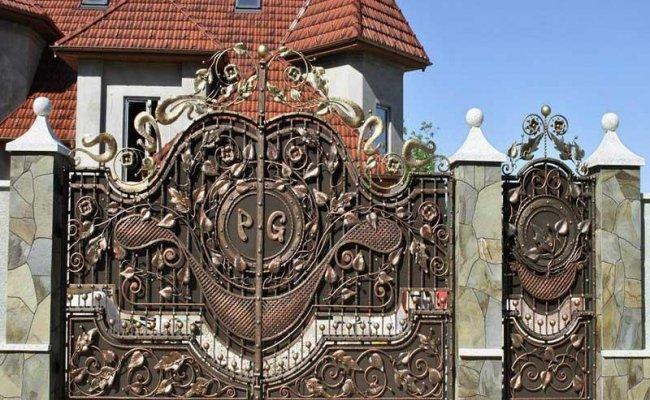 Ворота кованые kv-68