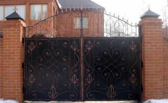 Ворота кованые kv-69