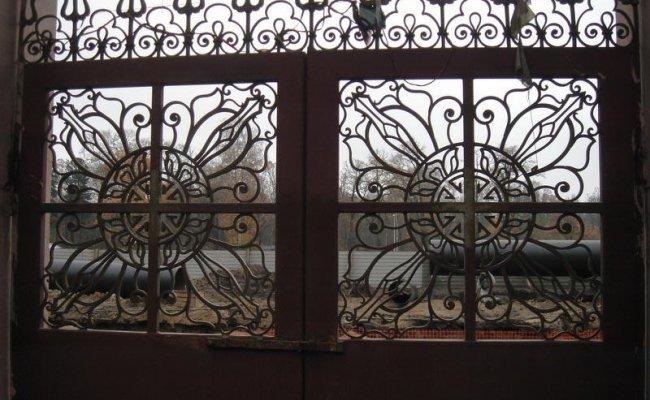 Ворота кованые kv-73
