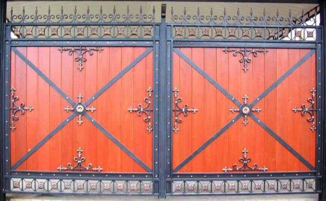 Ворота кованые kv-75