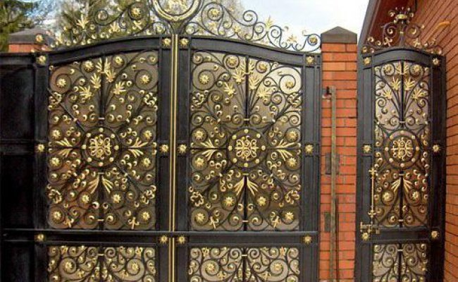 Ворота кованые kv-76