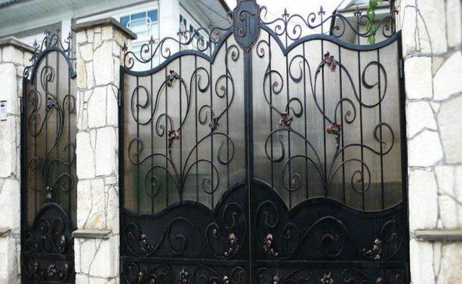Ворота кованые kv-82