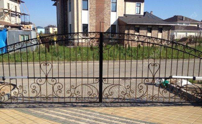 Ворота кованые не высокие