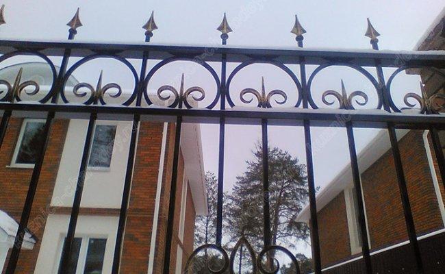 Забор кованый kz-01