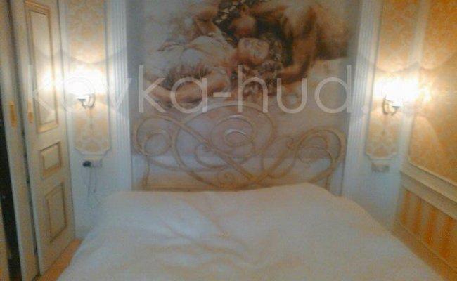 Роскошная кровать кованая rk-0901