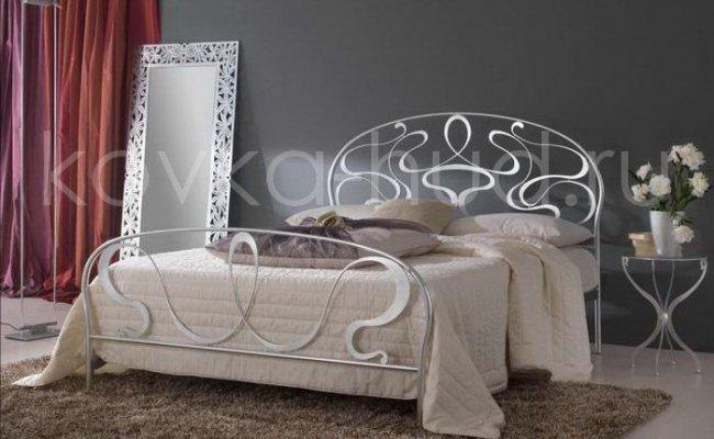 Роскошная кровать кованая rk-0912