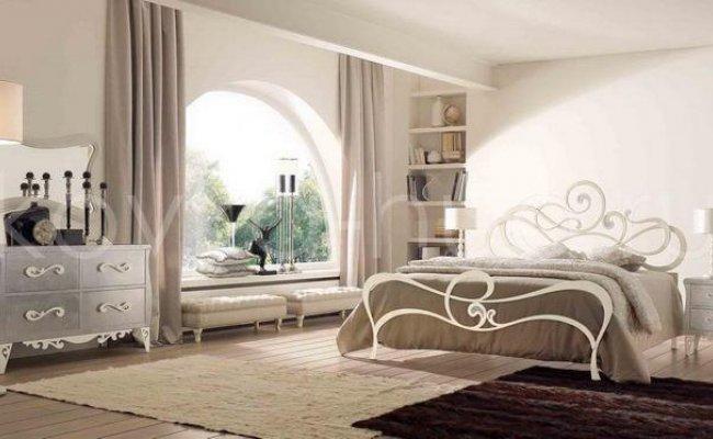 Роскошная кровать кованая rk-0916