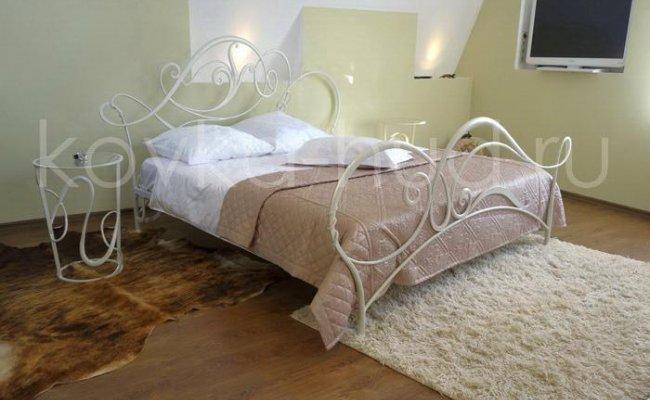 Роскошная кровать кованая rk-0917