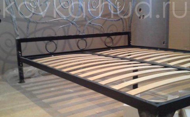 Роскошная кровать кованая rk-0921