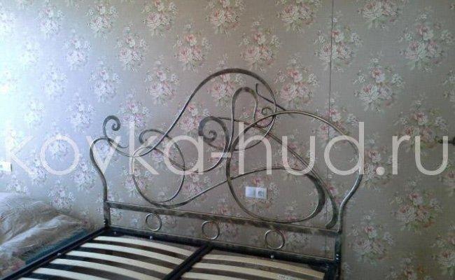 Роскошная кровать кованая rk-0922