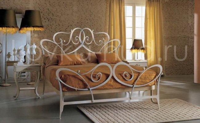 Роскошная кровать кованая rk-0931