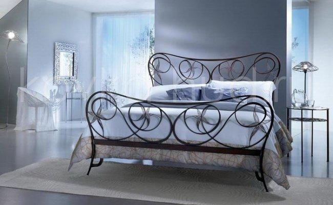 Роскошная кровать кованая rk-0938
