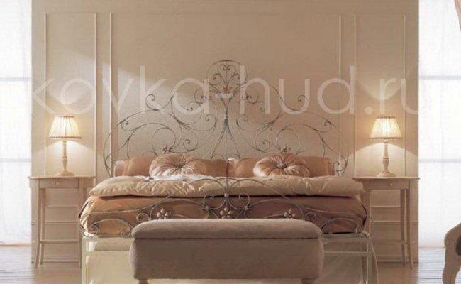 Роскошная кровать кованая rk-0939