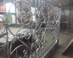 Кованые автоматические ворота, Высоково