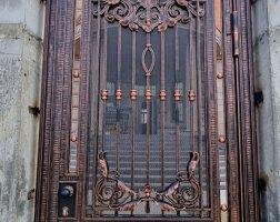 Ворота кованые кп Миллениум