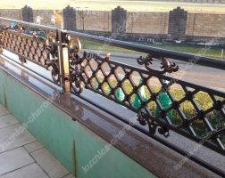 Кованый балкон bn-10