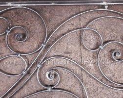 Элементы рисунка кованых перил