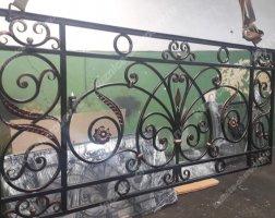 Кованый балкон bn-02