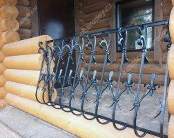 Кованый балкон bn-03