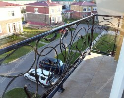 Кованый балкон bn-05