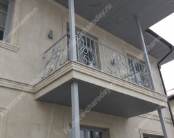 Кованый балкон bn-07