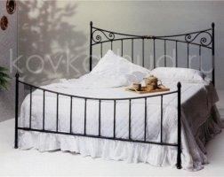 Классическая кровать кованая kkk-0605