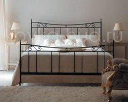 Классическая кровать кованая kkk-0612