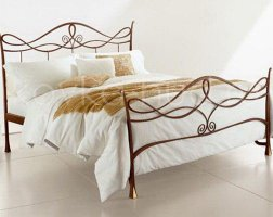 Классическая кровать кованая kkk-0613