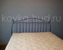 Классическая кровать кованая kkk-0614
