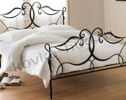 Классическая кровать кованая kkk-0618