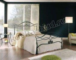 Классическая кровать кованая kkk-0619