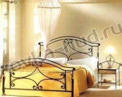 Классическая кровать кованая kkk-0621