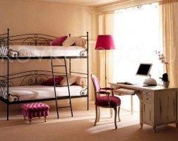 Односпальная кровать кованая kdo-0806