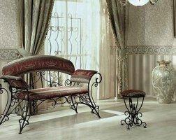 Мебель кованая km-01001