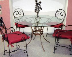 Мебель кованая km-01002