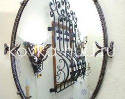 Зеркало кованое kzl-01405