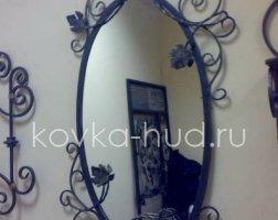 Зеркало кованое kzl-01408