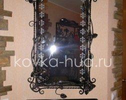 Зеркало кованое kzl-01409