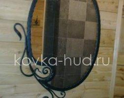 Зеркало кованое kzl-01410