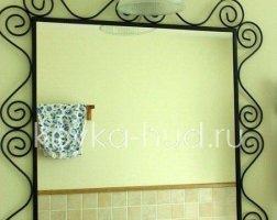 Зеркало кованое kzl-01412