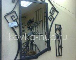 Зеркало кованое kzl-01413