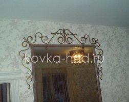 Зеркало кованое kzl-01414